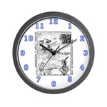 Coconuts Comics Shop Wall Clock: Golf Classic