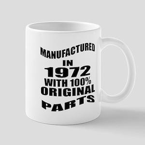 Manufactured In 1972 11 oz Ceramic Mug
