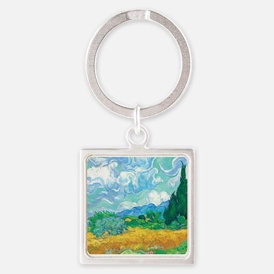Van Gogh - A Wheatfield with Cypresses1.jpg Keycha