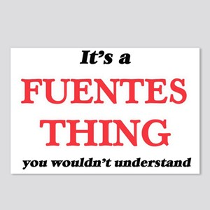 It's a Fuentes thing, Postcards (Package of 8)