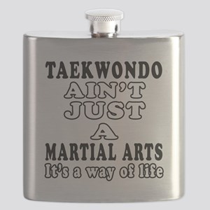Taekwondo Martial Arts Designs Flask