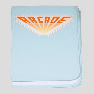 Arcade baby blanket