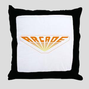 Arcade Throw Pillow