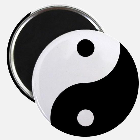 "Yin Yang 2.25"" Magnet (10 pack)"