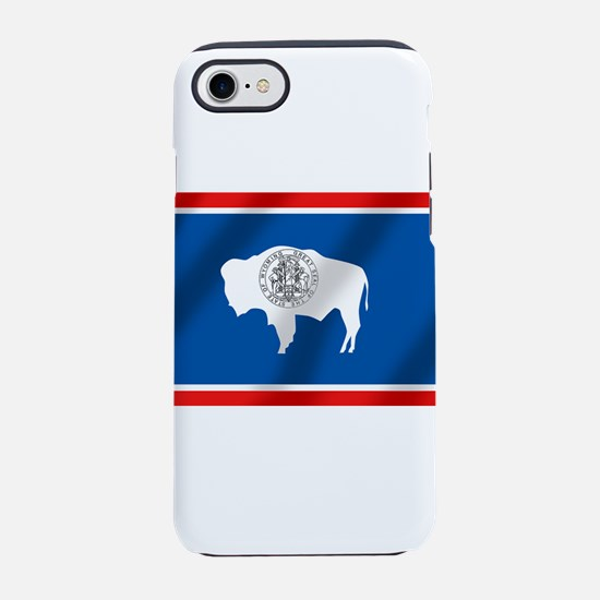 Flag of Wyoming iPhone 7 Tough Case