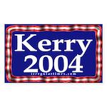 Kerry 2004 Rectangle Sticker