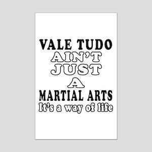 Vale Tudo Martial Arts Designs Mini Poster Print