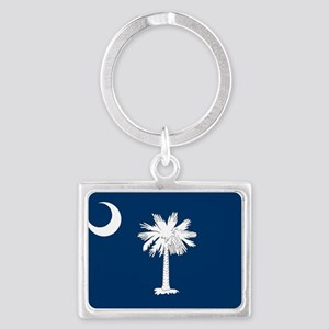 South Carolina State Flag Keychains