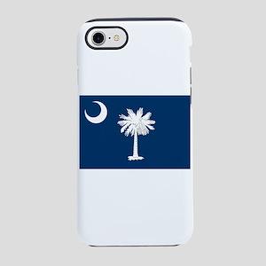 South Carolina State Flag iPhone 7 Tough Case