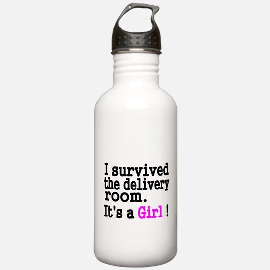 I survived the Delivery Room Water Bottle