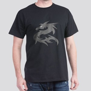 Silver Dragon Dark T-Shirt