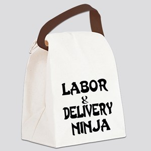 Labor Delivery Ninja Canvas Lunch Bag