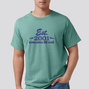 2001 Mens Comfort Colors Shirt