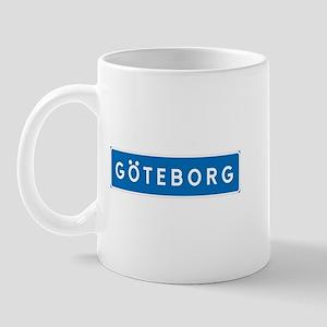 Road Marker Gothenburg - Sweden Mug