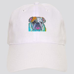 Bulldog in Color Cap