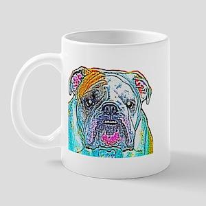 Bulldog in Color Mug
