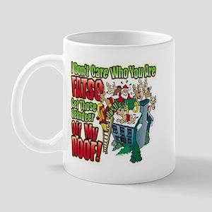 Don't Care Fatso Mug