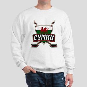 Wales Welsh Ice Hockey Shield Sweatshirt