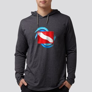 FLAG RAISED Mens Hooded Shirt
