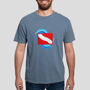 FLAG RAISED Mens Comfort Colors Shirt