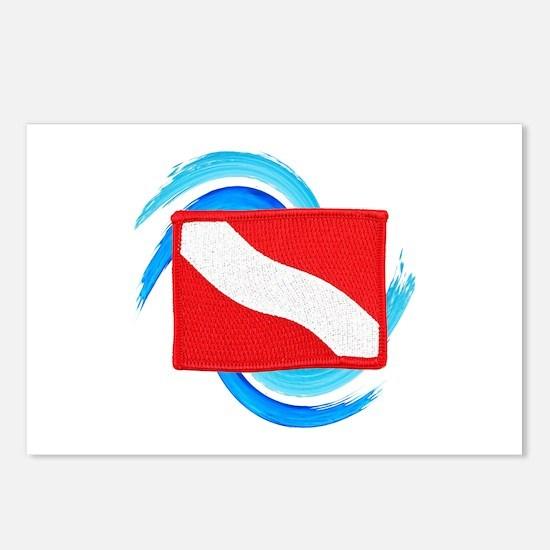 FLAG RAISED Postcards (Package of 8)