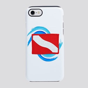 FLAG RAISED iPhone 7 Tough Case