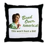 Bend Over (anti-Pelosi) Throw Pillow