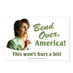 Bend Over (anti-Pelosi) Postcards (Package of 8)