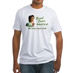 Bend Over (anti-Pelosi) Fitted T-Shirt