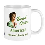 Bend Over (anti-Pelosi) Mug