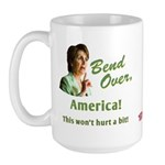 Bend Over (anti-Pelosi) Large Mug