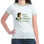 Bend Over (anti-Pelosi) Jr. Ringer T-Shirt