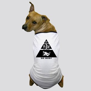 Gym Workout Dog T-Shirt