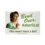 Bend Over (anti-Pelosi) Rectangle Magnet