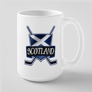 Scottish Scotland Ice Hockey Shield Mug