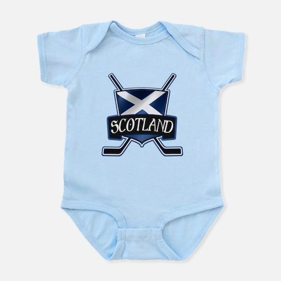 Scottish Scotland Ice Hockey Shield Body Suit