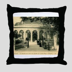 Source des Celestins, Vichy France Vintage Throw P