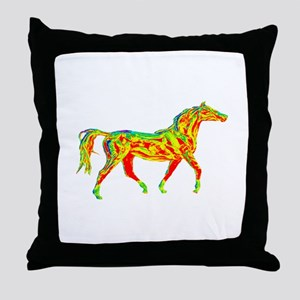 TROT SCALE Throw Pillow