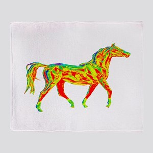TROT SCALE Throw Blanket