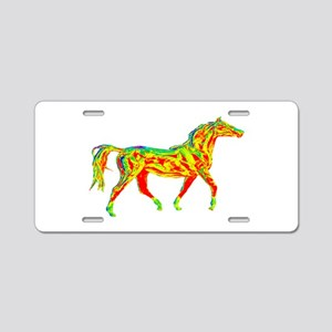 TROT SCALE Aluminum License Plate