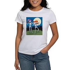 Skeleton Day Of The Dead Women's T-Shirt