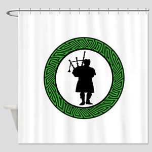 THE PIPER SOUNDS Shower Curtain
