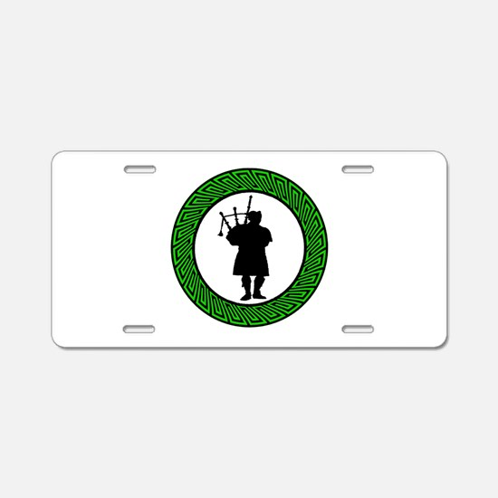 THE PIPER SOUNDS Aluminum License Plate