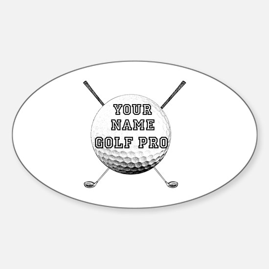 Custom Golf Pro Decal