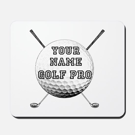 Custom Golf Pro Mousepad