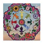 Circle Of Women Tile Coaster
