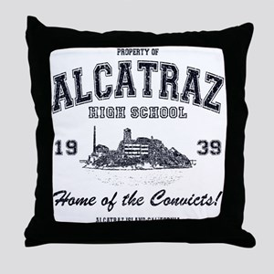 Alcatraz High School Throw Pillow