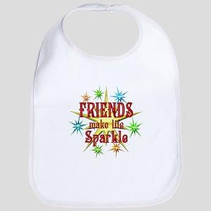 Friends Sparkle Bib