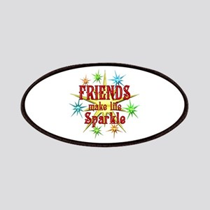 Friends Sparkle Patches