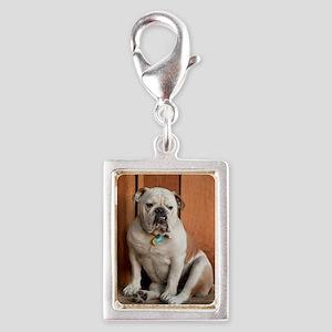 6141337 Silver Portrait Charm